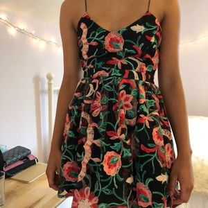 Forever 21 Dresses - ✨SHOP SALE💕BOGO1/2  Embroidered Floral Dress F21